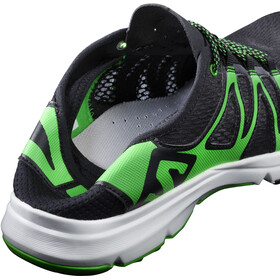 Salomon Crossamphibian Shoes Herr black/black/classic green